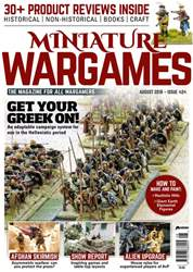 Miniature Wargames issue August 2018 (Isuue 424)
