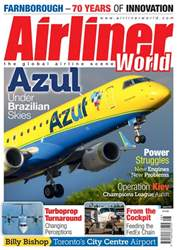 Airliner World issue   August 2018