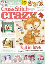 Cross Stitch Crazy issue September 2018
