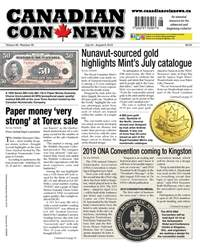 Canadian Coin News issue V56#08 - July 24