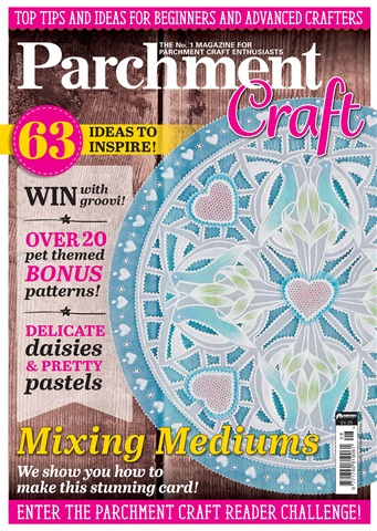Parchment Craft issue August 2018