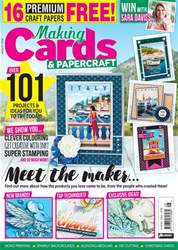 Making Cards & Papercraft issue August 2018