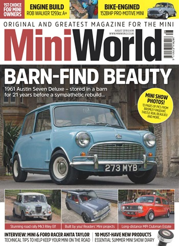 Mini World issue August 2018