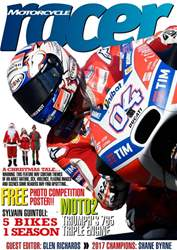 Motorcycle Racer Magazine Magazine Cover