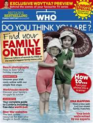 Who Do You Think You Are? issue Summer 2018