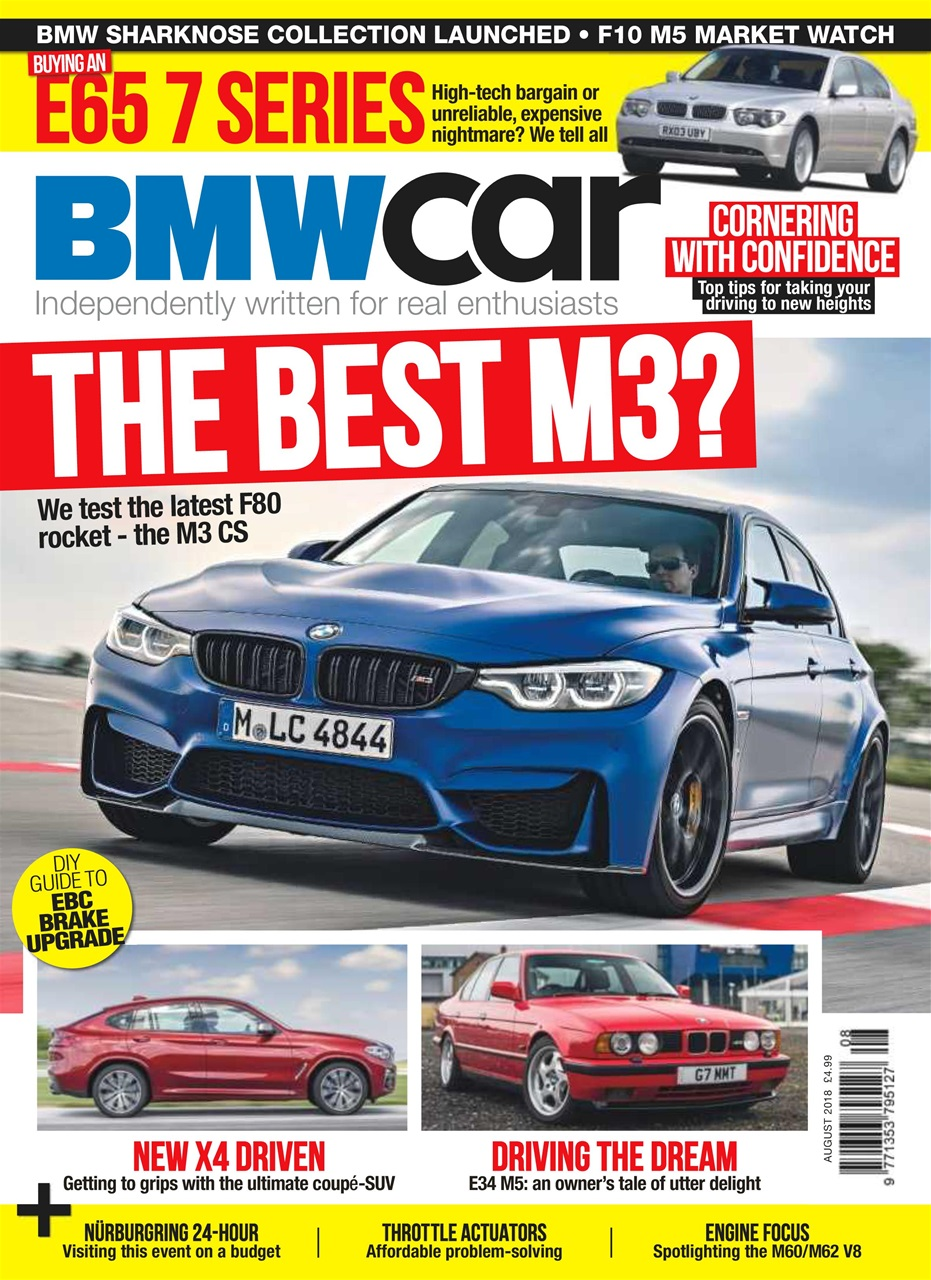 bmw car magazine - august 2018 subscriptions | pocketmags