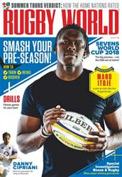 Rugby World issue August 2018