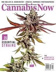 Cannabis Now Magazine Cover