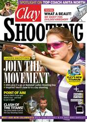 Clay Shooting Magazine Cover