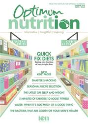Optimum Nutrition issue Optimum Nutrition