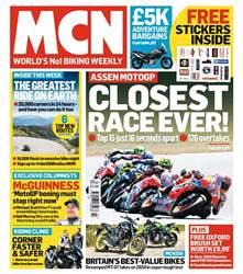 MCN Magazine Cover