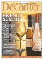 Decanter issue August 2018