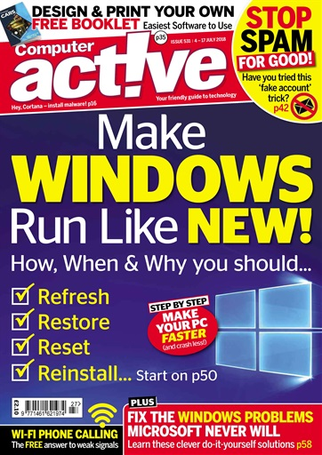 Computer active magazine 531 subscriptions pocketmags title cover preview computer active preview solutioingenieria Gallery