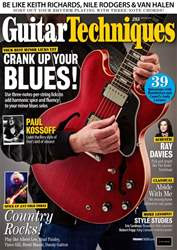 Guitar Techniques issue August 2018