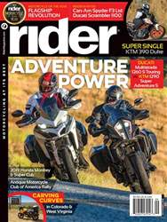Rider Magazine issue September 2018