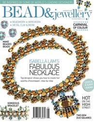 Bead Magazine issue Aug/Sept 2018