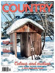 Australian Country issue Issue#21.4 JunJul 18