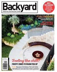 Backyard Magazine Cover
