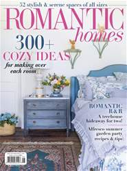 Romantic Homes issue August 2018