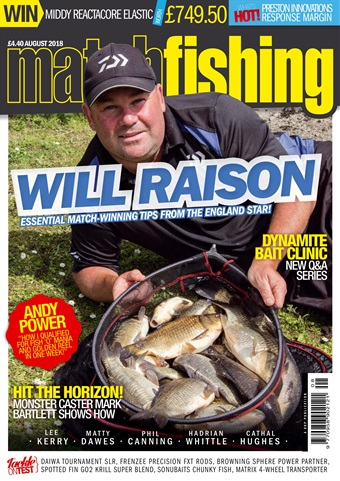 Match Fishing issue August 2018