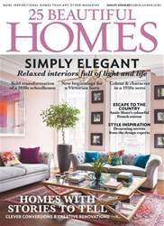 25 Beautiful Homes issue August 2018