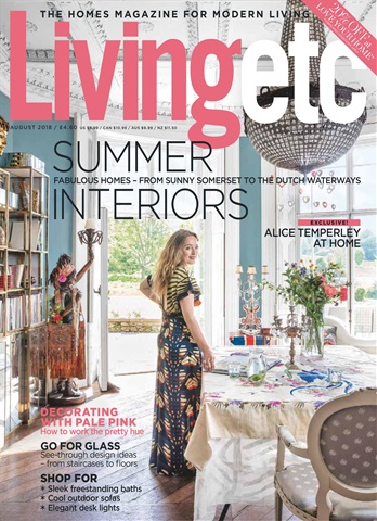 Living Etc issue August 2018