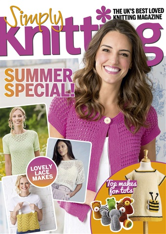 Simply Knitting issue Issue 175