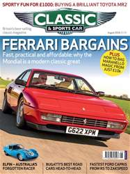 Classic & Sports Car issue August 2018