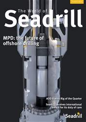 The World of Seadrill Magazine Cover