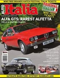 Auto Italia Mag 270 issue Auto Italia Mag 270