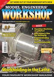 Model Engineers' Workshop Magazine issue Aug-18