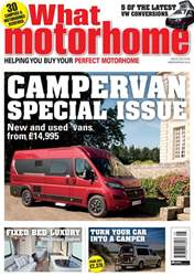 What Motorhome magazine issue Campervan Special Issue - August 2018