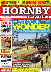 Hornby Magazine issue   August 2018