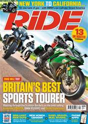 Ride issue September 2018