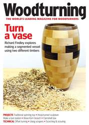 Woodturning issue August 2018