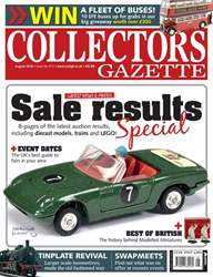 Collectors Gazette issue August 2018
