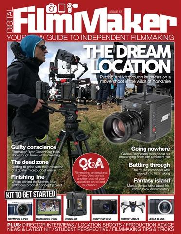 Digital FilmMaker issue DFM issue 58