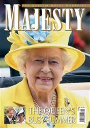 Majesty Magazine issue August 2018