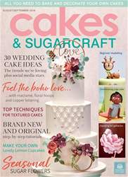 Cakes & Sugarcraft issue Aug/Sep 2018