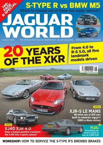 Jaguar World issue August 2018