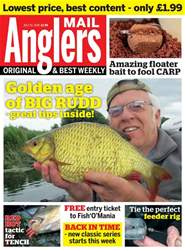 Anglers Mail issue 10th July 2018
