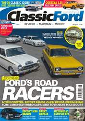 Classic Ford issue August 2018
