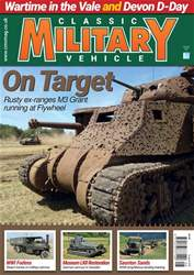 Classic Military Vehicle issue   August 2018