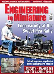 Engineering in Miniature issue August 2018