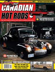 Canadian Hot Rods Magazine Cover