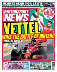 Motorsport News issue 11th July 2018