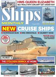 Ships Monthly issue August 2018