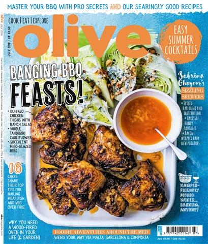 Olive Magazine issue July 2018