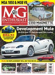 MG Enthusiast issue August 2018
