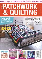 Patchwork and Quilting issue Aug-18